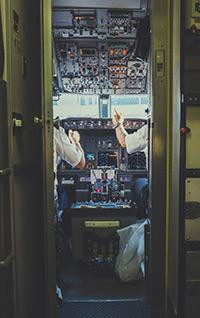Les pilotes restent dans le tableau de bord